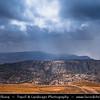 Middle East - Jordan - Hashemite Arab Kingdom of Jordan - Dana Nature Reserve - Jordan's Most Breathtaking Scenery Full of Rugged Beauty and Natural Diversity