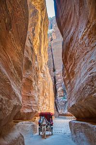 The Siq ... Petra