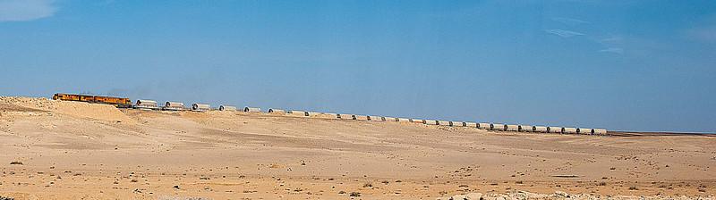 Bringing ore to potash plant