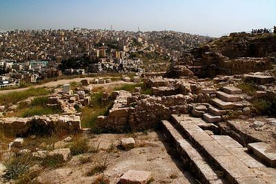 Looking toward Amman