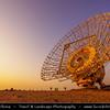 Middle East - GCC - Kuwait - Kuwaiti Desert - Destroyed Satellite Antenna near Al Mutla Ridge