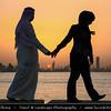 Middle East - GCC - Kuwait - Salmiya corniche - Arabian Gulf Str