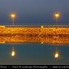 Middle East - GCC - Kuwait - Kuwait City - Skyline from Al Shuwaikh Port and beach area, favorite part of seaside corniche