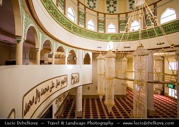 Middle East - GCC - Kuwait - Kuwait City - Dahiya Abdullah Mubarak - Siddiqua Fatima Zahra Mosque - Sadeeqa Fatimatul Zahra Masjid - Shia mosque built in style of India's Mughal emperor Shah Jahan's iconic memorial to his wife - Taj Mahal