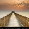 Middle East - GCC - Kuwait - Kuwait City - Seaside Pier on Arabian Gulf Street at Sunrise