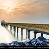 Middle East - GCC - Kuwait - Kuwait City - Seaside Pier on Arabian Gulf Street at Sunrise