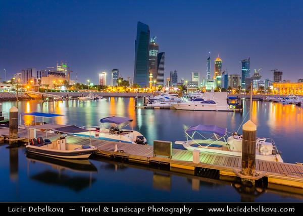 Middle East - GCC - Kuwait - Kuwait City - Al Shuwaikh Port Area - Souq Sharq - Souk Shark - One of shopping malls with great seafront promenade
