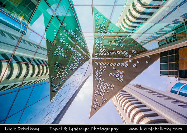 Middle East - GCC - Kuwait - Kuwait City - Modern City Center Architecture