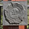 Lenen plaque in Bishkek