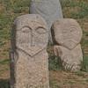 petroglyphs (Balbals) at Burana Tower