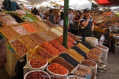 dried fruit in bazar/market Bishkek