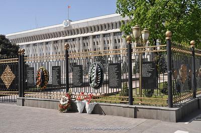the White House in Bishkek (parlement)