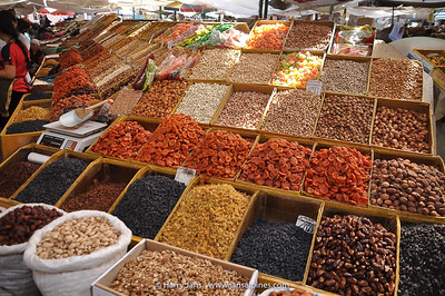 dried fruit in bazar/market Bishkek
