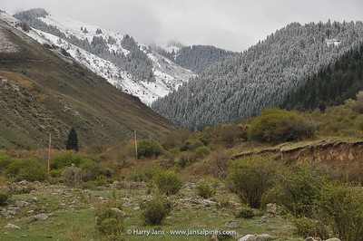 view toward Ashu valley