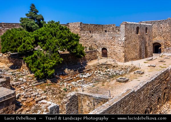 Lebanon - Libnān - Lubnān - Tripoli - طرابلس - Ṭarābulus - City on shores of Mediterranean Sea - Citadel of Raymond de Saint-Gilles - Largest fortress in Lebanon