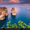 Lebanon - Libnān - Lubnān - Beirut - وت‎ - Bayrūt - Beyrouth - Pigeons' Rock - Raouché - Beirut's western-most tip - Two huge rock formations, a popular destination for locals & visitors
