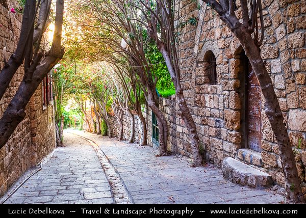 Lebanon - Libnān - Lubnān - Byblos - Gebal - Βύβλος - جبيل‎ - Jubayl - Ancient Town on shores of Mediterranean Sea - Oldest continuously-inhabited city in the world - UNESCO World Heritage Site - Historic Quarter & Old Souq/Souk Market
