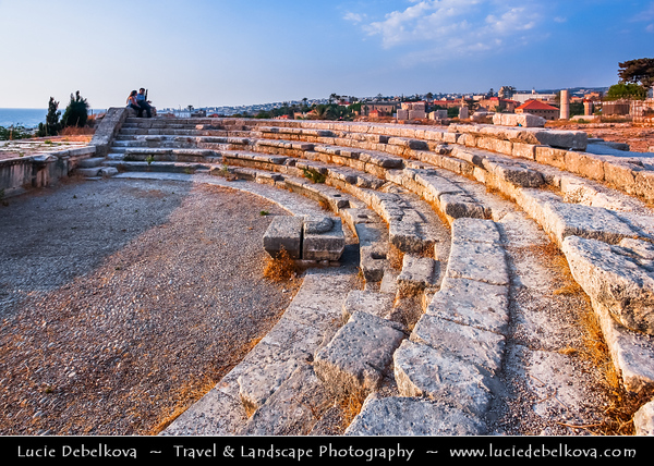 Lebanon - Libnān - Lubnān - Byblos - Gebal - Βύβλος - جبيل - Jubayl - Ancient Town on shores of Mediterranean Sea - Oldest continuously-inhabited city in the world - UNESCO World Heritage Site - Historic Quarter - Byblos Crusaders Castle - 12th century indigenous limestone site with remains of Roman structures