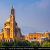 Lebanon - Libnān - Lubnān - Liban - Harissa - Town 20 km north of Beirut - Our Lady of Lebanon - Notre Dame du Liban - Marian shrine & pilgrimage site overlooking the bay of Jounieh