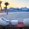 Middle East - Sultanate of Oman - Al Batinah Region - Wadi Al Abyadh - Wadi Abidh - Wadi Abiyad - Sea of beautiful golden sand dunes south of Hajar mountains
