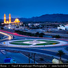 Middle East - Sultanate of Oman - Al Dakhiliyah Governorate - Bahla - Bahlat Sultan Qaboos Mosque - Impressive mosque built in 1996 and named after the Sultan