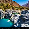 Middle East - Sultanate of Oman - Wadi al Arabiyin - Wadi Arbayeen - Wadi Al Arbaeen - Wadi Al Arabiyeen - Wadi Al Arabieen - Mountain valley with fresh water pools
