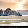 Middle East - Sultanate of Oman - Muscat - مسقط - Masqaṭ - Yiti Beach - Yitti - Rocky coastal area along Gulf of Oman or Sea of Oman