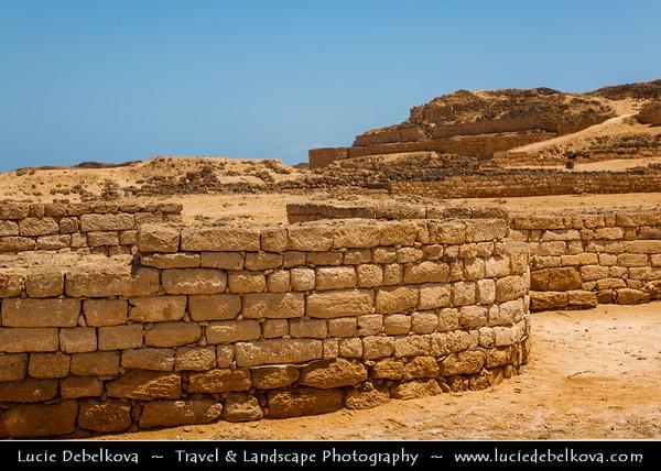 Middle East - Sultanate of Oman - Dhofar Province - Salalah Area - صلالة - Ṣalālah - Al-Baleed - Al Balid Ruins - Large archaeological complex on the coast