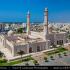 Middle East - Sultanate of Oman - Dhofar Province - Salalah Area - صلالة - Ṣalālah - Sultan Qaboos Grand Mosque - New key landmark structure in Salalah