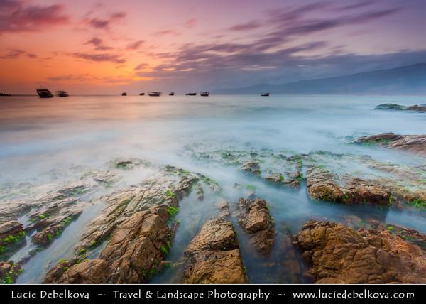 Middle East - Sultanate of Oman - Dhofar Province - Salalah Area - صلالة - Ṣalālah - Mirbat - مرباط - Coastal town along Indian Ocean