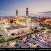 Middle East - Sultanate of Oman - Dhofar Province - Salalah Area - صلالة - Ṣalālah - Sultan Qaboos Grand Mosque - New key landmark structure in Salalah