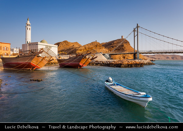 Middle East - Sultanate of Oman - Ash Sharqiyah Region - Sur - صور‎ - One of the ancient Omani maritime cities & important destination point for sailors on coast of Gulf of Oman