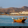 Middle East - Sultanate of Oman - Ash Sharqiyah Region - Sur - صور‎ - One of the ancient Omani maritime cities & important destination point for sailors on coast of Gulf of Oman - Al-Ayjah watchtowers along the sea shore