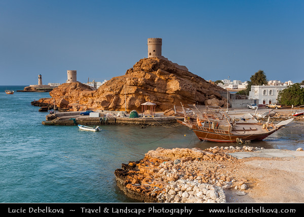 Middle East - Sultanate of Oman - Ash Sharqiyah Region - Sur - صور - One of the ancient Omani maritime cities & important destination point for sailors on coast of Gulf of Oman
