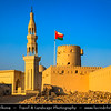 Middle East - Sultanate of Oman - Ash Sharqiyah district - Ras al Hadd - Fishing town located on the east coast of Oman on shores of Indian Ocean - Important ancient trading point between East Africa, Indian subcontinent and Arabian peninsula - Ras Al Hadd Fort and Mosque