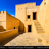 Middle East - Sultanate of Oman - Ad Dakhiliyah Region - Nizwa - نزوى‎ - Historical town - One of oldest cities in Oman - Nizwa Fort - Massive castle & Oman's most visited national monument