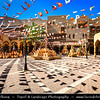 Middle East - Sultanate of Oman - Ad Dakhiliyah Region - Nizwa - نزوى - Historical town - One of oldest cities in Oman - Former center of trade, religion, education and art with wealth of cultural & ancient landmarks - Nizwa main historical market, souq, souk with various local products