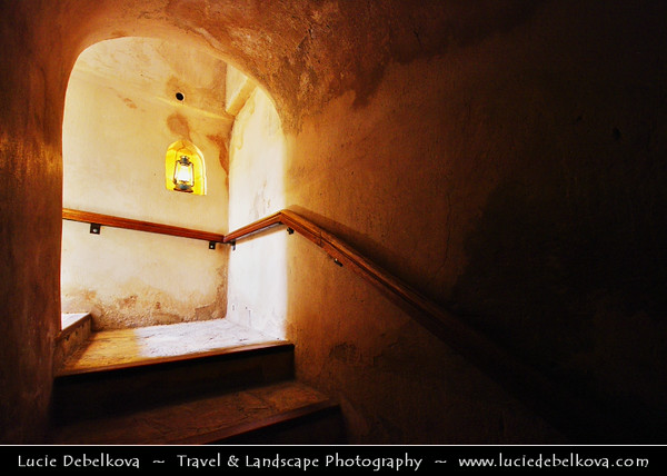 Middle East - Sultanate of Oman - Ad Dakhiliyah Region - Nizwa - نزوى - Historical town - One of oldest cities in Oman - Nizwa Fort - Massive castle & Oman's most visited national monument