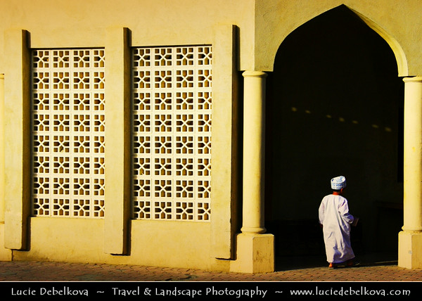 Middle East - Sultanate of Oman - Ad Dakhiliyah Region - Nizwa - نزوى‎ - Historical town - One of oldest cities in Oman - Former center of trade, religion, education and art with wealth of cultural & ancient landmarks