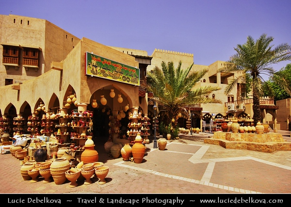 Middle East - Sultanate of Oman - Ad Dakhiliyah Region - Nizwa - نزوى‎ - Historical town - One of oldest cities in Oman - Nizwa Souq - Souk - Traditional Arab Market