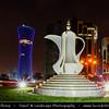Qatar - Doha - الدوحة - ad-Dawḥa - ad-Dōḥa - Doha Corniche and its New and Modern Skyline