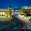 Middle East - GCC - Qatar - Doha - الدوحة‎ - ad-Dawḥa - ad-Dōḥa - Souq Waqif - Souk Wakif - Shopping destination built in traditional architectural Qatari style & Small traditional mosque