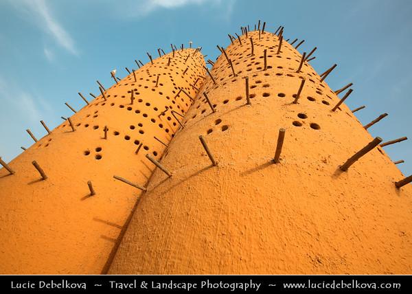 Middle East - Qatar - Doha - الدوحة - ad-Dawḥa - ad-Dōḥa - Katara - Cultural village based on traditional Qatari Al Fereej - Area build in traditional architecture with beautiful mosques and leasure area
