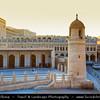 Middle East - GCC - Qatar - Doha - الدوحة - ad-Dawḥa - ad-Dōḥa - Souq Waqif - Souk Wakif - Shopping destination built in traditional architectural Qatari style & Small traditional mosque
