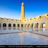 Middle East - GCC - Qatar - Doha - الدوحة - ad-Dawḥa - ad-Dōḥa - Abdul Wahhab Masjid - State Grand Mosque of Qatar - Sheikh Muhammad Ibn Abdul Wahhab Mosque