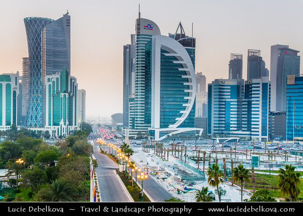 Middle East - Qatar - Doha - الدوحة - ad-Dawḥa - ad-D