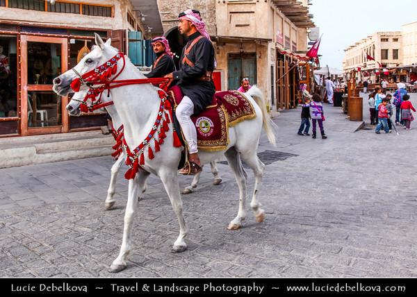 Qatar - Doha - الدوحة - ad-Dawḥa - ad-Dōḥa - Life and People on the streets of Souq Waqif
