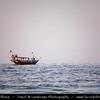 Qatar - Doha - الدوحة - ad-Dawḥa - ad-Dōḥa - Traditional Dhow leaving Doha Corniche