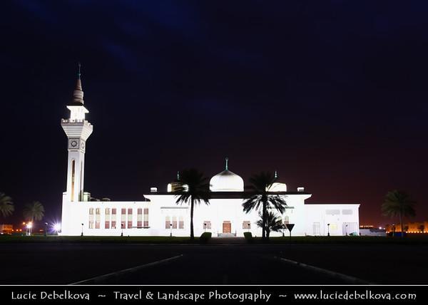 Qatar - Al Wakrah - Al Waqra - Al Waqrah - Grand Mosque at Dawn