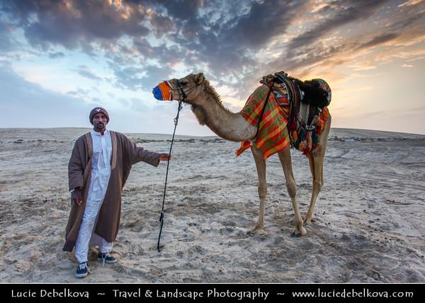 "Qatar - Qatari Desert - Area around Spectacular Khor al Adaid - ""Inland Sea"""